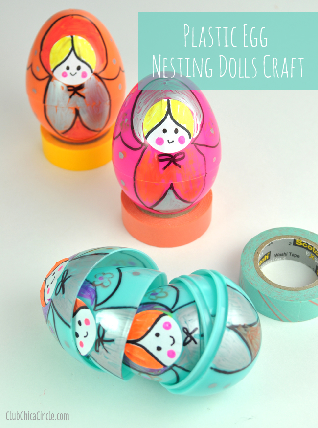 Homemade Nesting Dolls Easy Craft Idea for Kids