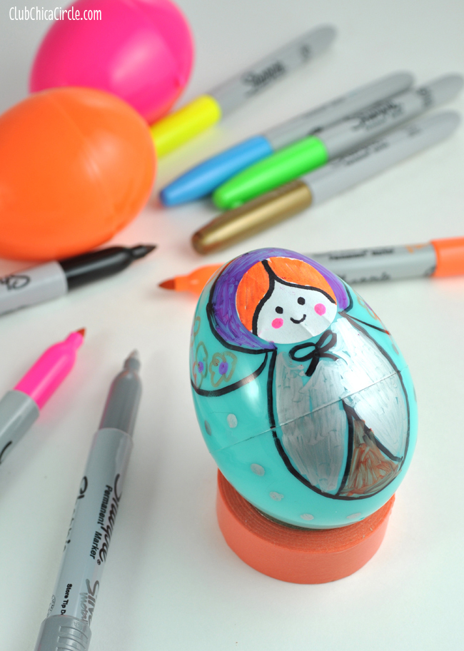 Homemade Russian Nesting Doll Craft