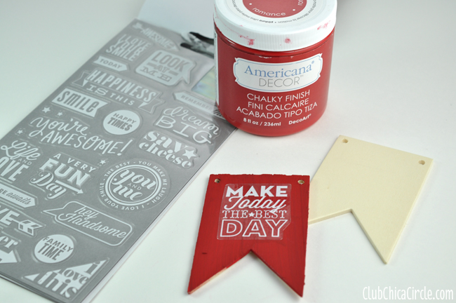 Chalky Finish Bag Tags