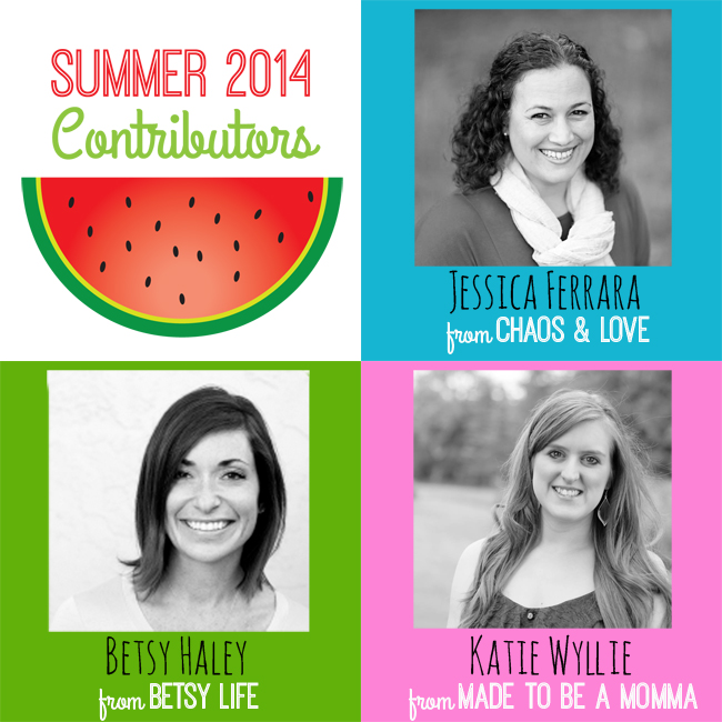 Club Chica Circle Summer 2014 Contributors Graphic