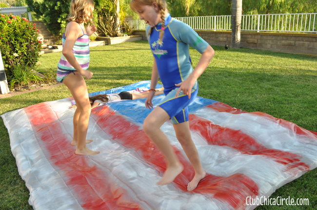 DIY backyard water blob for kids copy