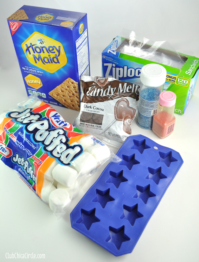 Patriotic Party S'mores Pack Supplies