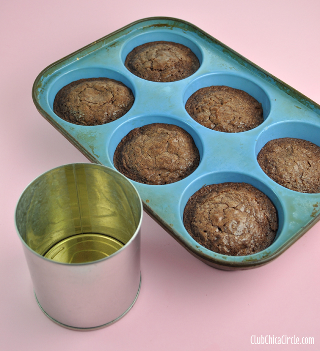 brownie cupcake in a can surprise
