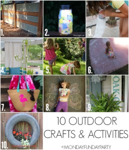 10 Outdoor Crafts & Activities