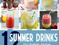 12 Summer Drink Recipe Ideas #MondayFundayParty