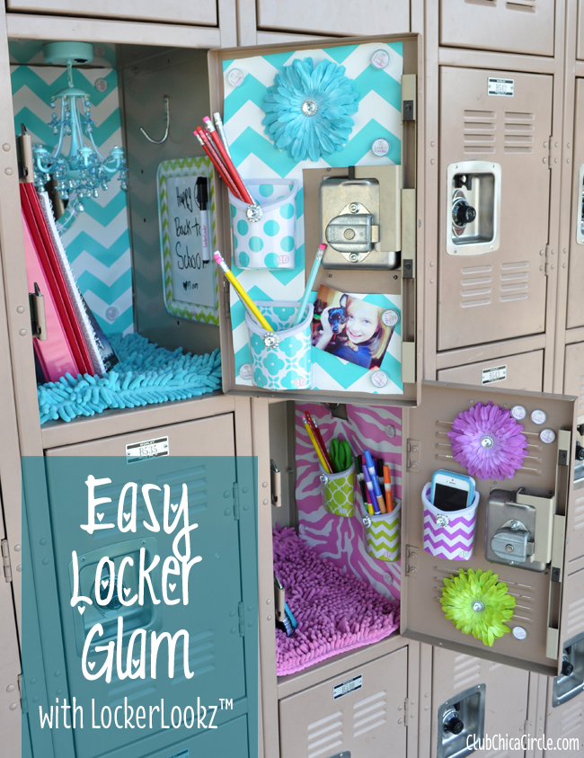 Glam Up Your Locker with LLZ by LockerLookz : Club Chica Circle - where crafty is contagious