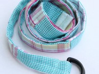 Patchwork-Fabric-Belt