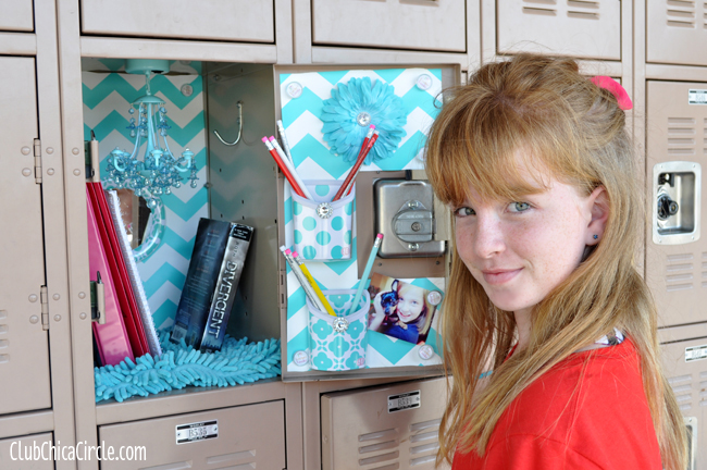 Tween Decorated Locker For Back To School