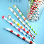 Washi Tape Straw Shooters Easy Tutorial Kids Craft Idea