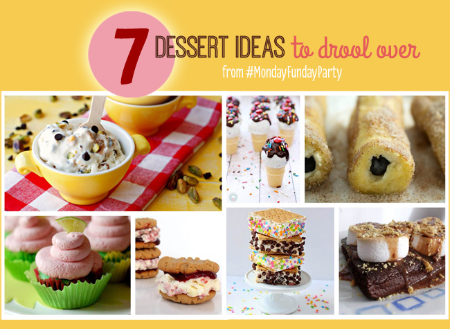 7 Dessert ideas to drool over