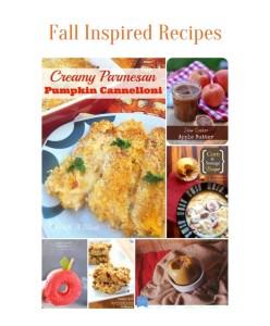 7 Fall Inspired Recipe Ideas