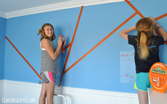 How to make a modern art kids bedroom wall copy