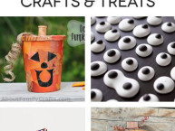 10 creative Halloween crafts and treat ideas