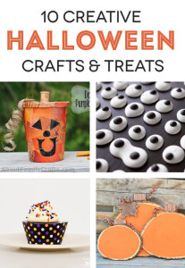 10 creative Halloween crafts and treat ideas