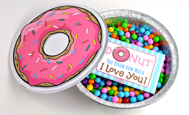 Donut Printable for Fun Tween's Birthday Gift Idea
