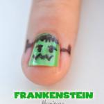 Frankenstein Manicure DIY