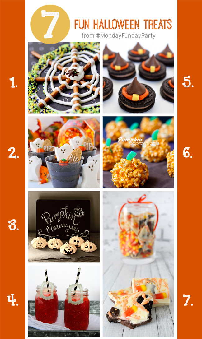 7 Fun Halloween Treats #MondayFundayParty