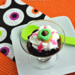 Fun Eyeball Halloween Pudding Cups Dessert Idea