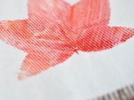 Leaf Printing on Fabric Fall Craft Idea