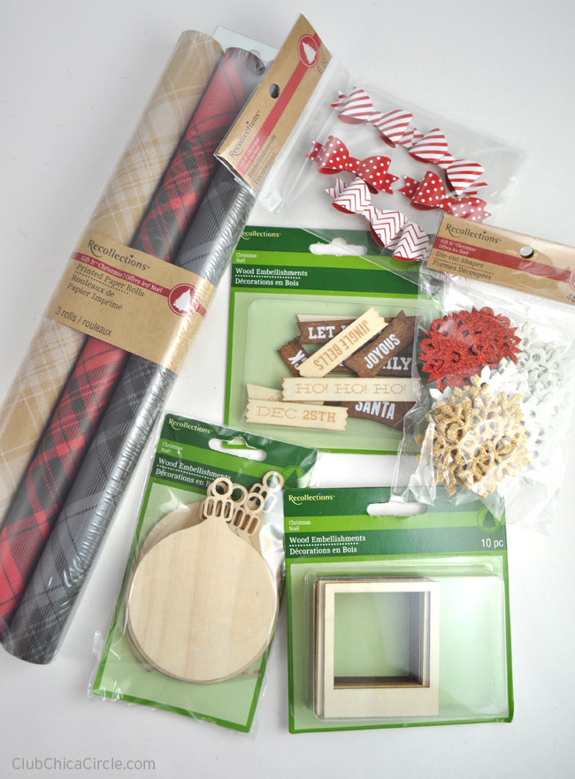 Michaels Recollections Holiday Craft Supplies