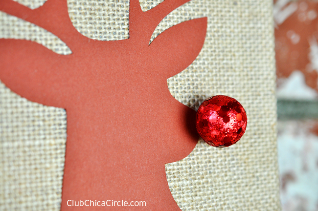 Rudolph Holiday Wall Decoration