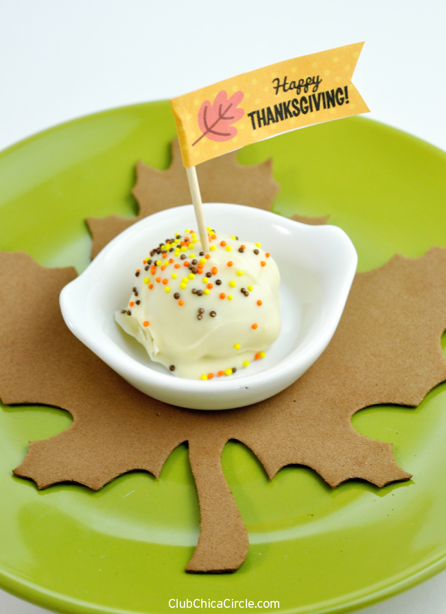 Thanksgiving Dessert Idea