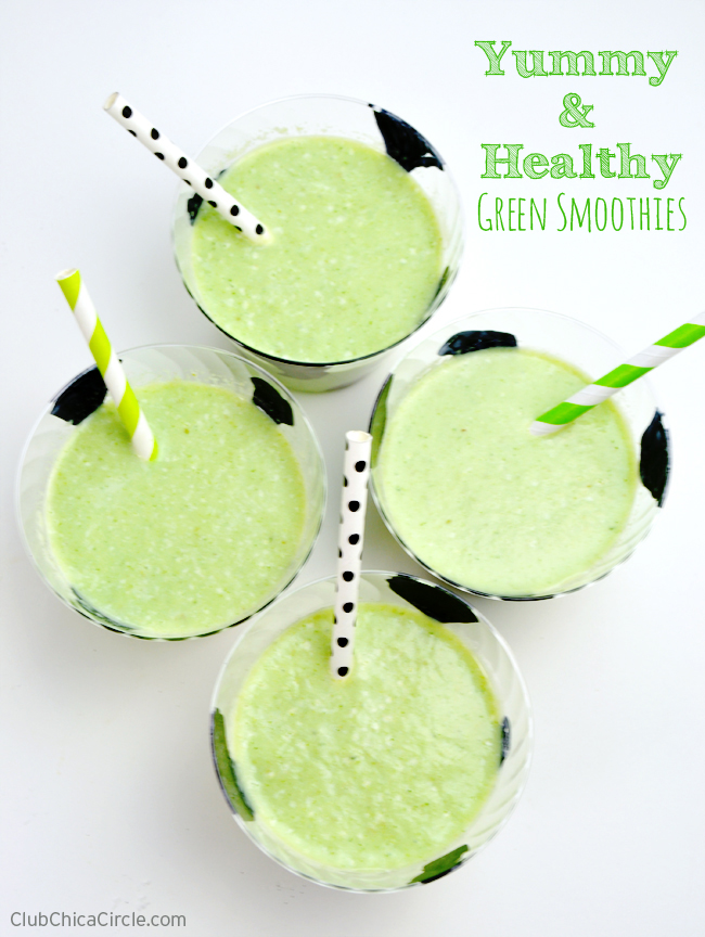 Yummy and Healthy Green Smoothies For Kids