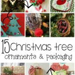 15 Homemade Christmas Ornaments #MondayFundayParty