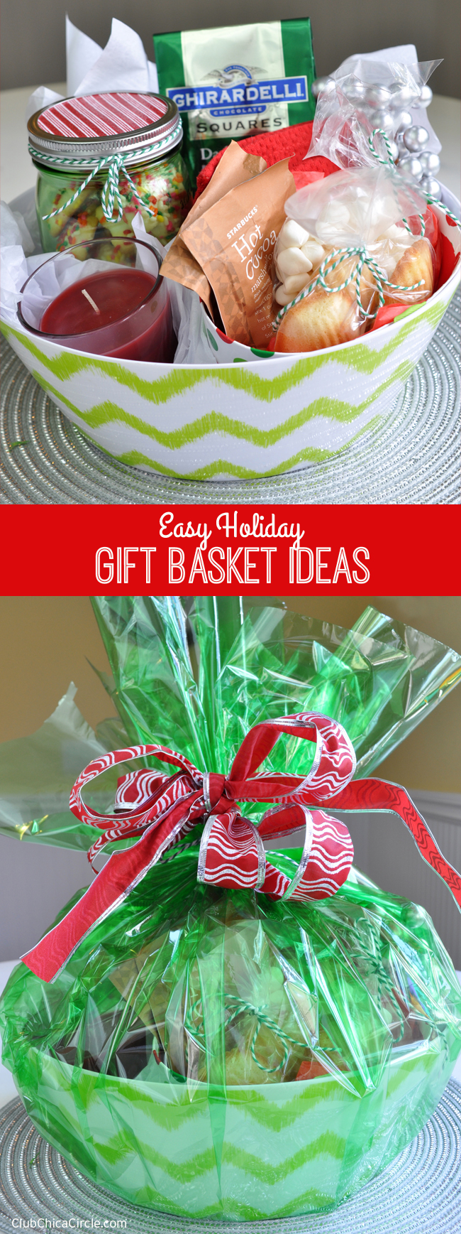 Easy holiday gift basket ideas giveaway