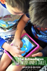 Twins Playing on Amazon #FireHDKidsEdition #CG