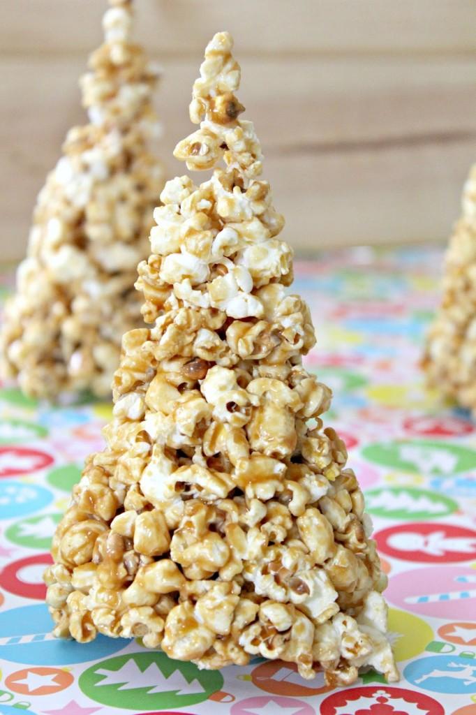 caramel popcorn tree #mondayfundayparty