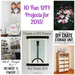 10-Fun-DIY-Projects-for-2015 #MondayFundayParty