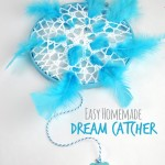 Easy Homemade Dream Catcher Craft for Kids