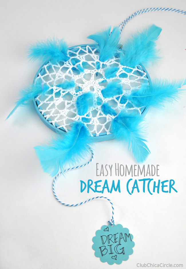 Easy homemade dream catchers for Easy homemade dream catchers