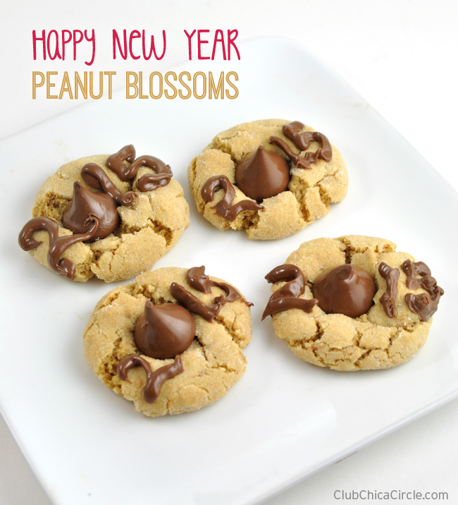 Happy New Year Peanut Blossoms