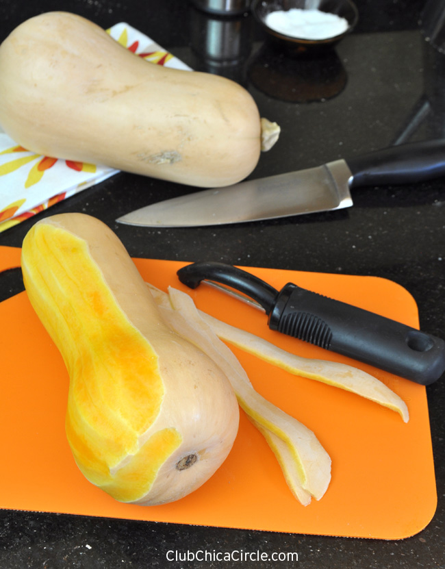How to make easy butternut squash fries