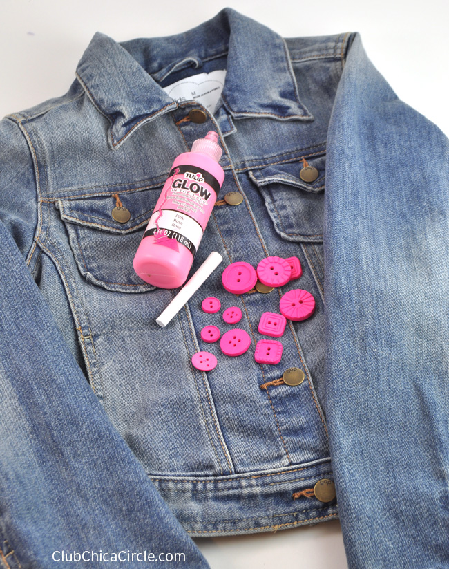 Upcycled Valentine Denim Jacket