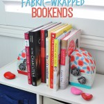 easy homemade bookends DIY #makeitfuncrafts