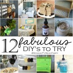 12. Fabulous DIY Projects to Try #MondayFundayParty