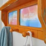Inspirational Chalky Finish Hanging Shelf redo