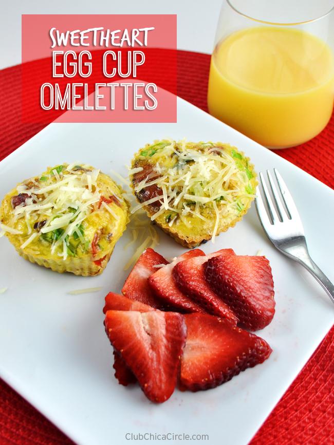 Sweetheart Egg Cups Recipe Idea