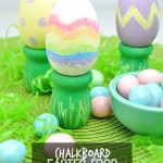 Chalkboard Easter Egg Decorations DIY