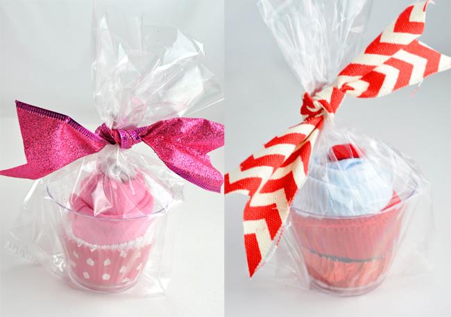 Cupcake Baby Onesie Homemade Gift Idea @clubchicacircle