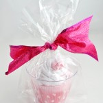 Cute Baby Cupcake Onesie Homemade Gift Bag Idea