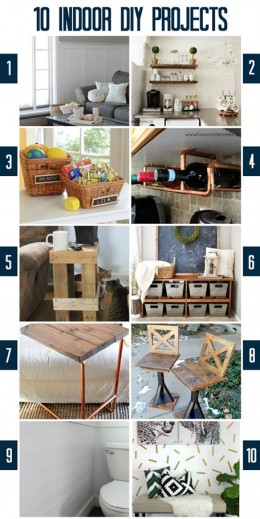 Indoor-DIY-Projects #MondayFunday
