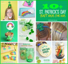 St. Patrick's Day Craft Ideas for Kids @clubchicacircle