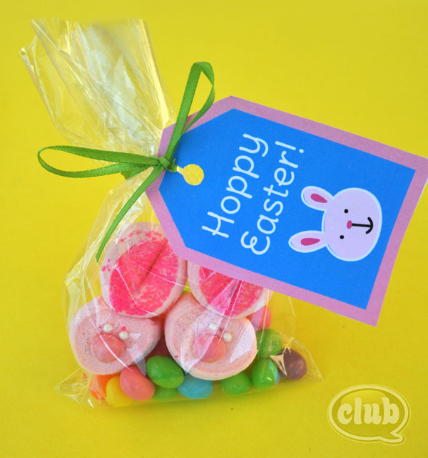 Spring and easter craft ideas club chica circle where crafty hoppy easter treat bag negle Images