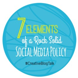 Social Media Policy Must Haves for Bloggers