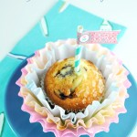 Dyed Coffee Filter Cupcake Flowers for Mother's Day #givebakery