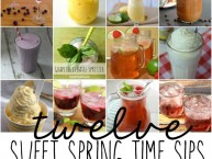 Springtime drink recipes ideas